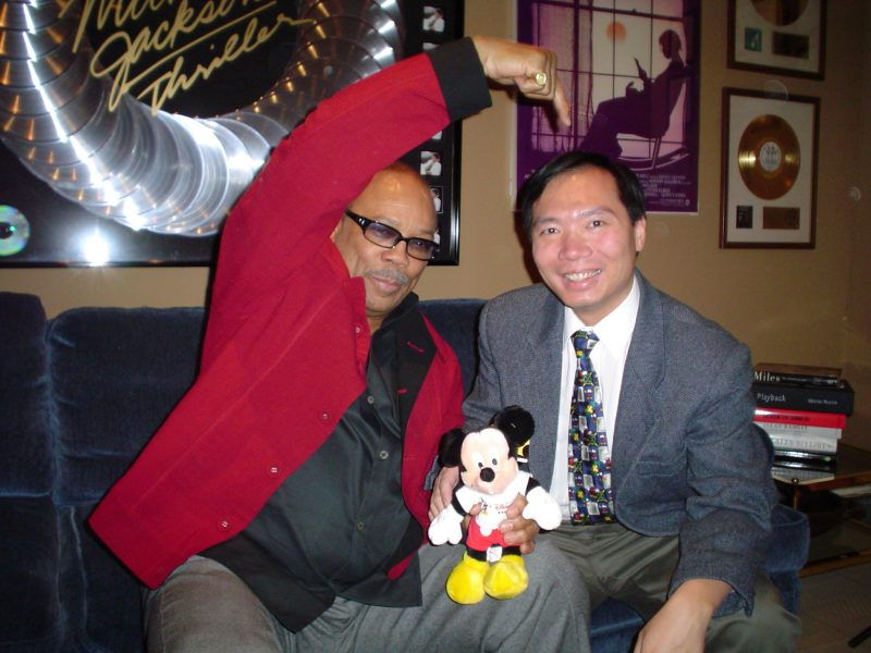 Newton Lee and Quincy Jones enjoyed many collaborations over the years through the American Film Institute and Association for Computing Machinery .
